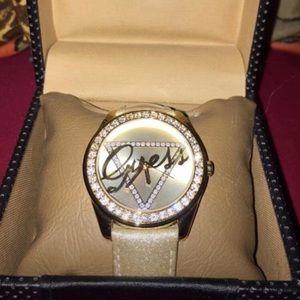 Guess? Gold watch